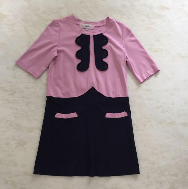Luella Mini Pink Dress