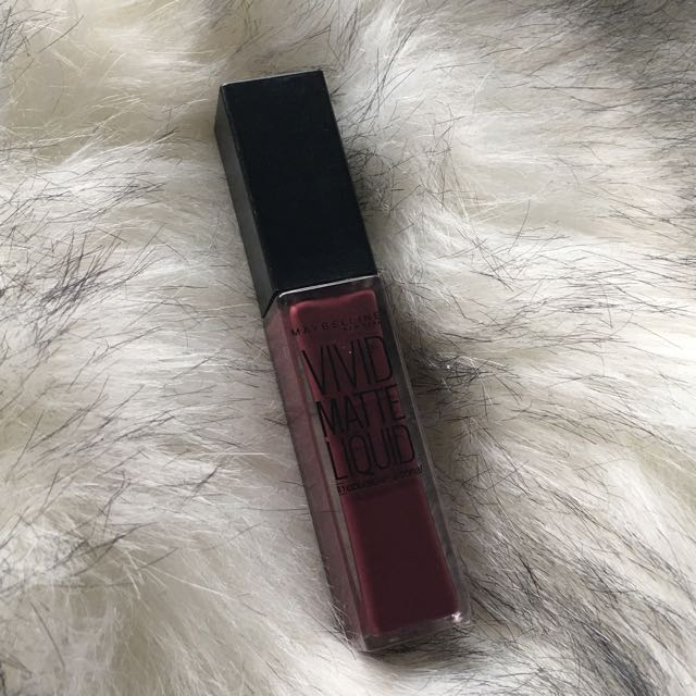Maybelline Vivid Matt Liquid Lipstick Possessed Plum