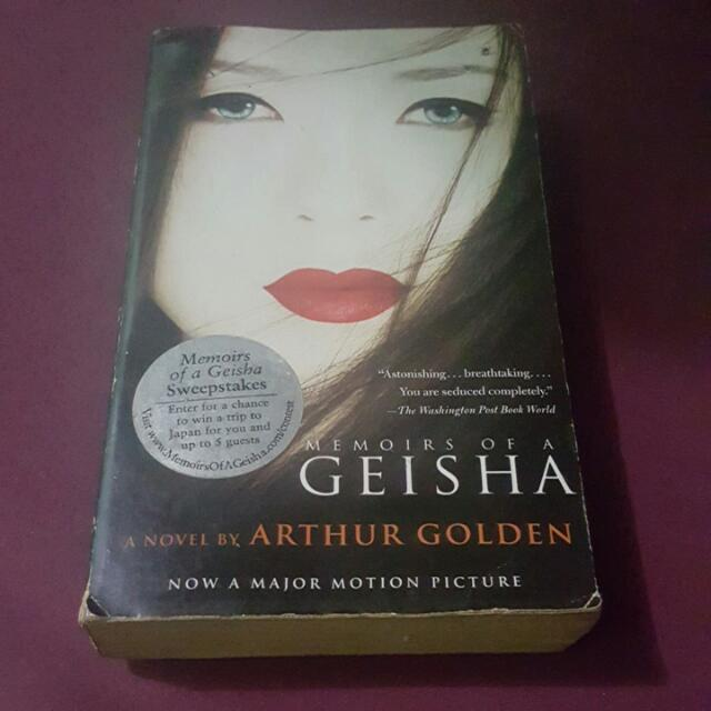 SALE!! Memoirs Of A Geisha