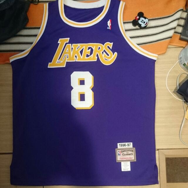 the best attitude 94fbf 011a2 Mitchell and Ness Kobe Bryant Authentic Jersey 落場版球衣 All Sewn