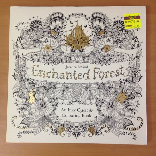 New Coloring Book Enchanted Forest