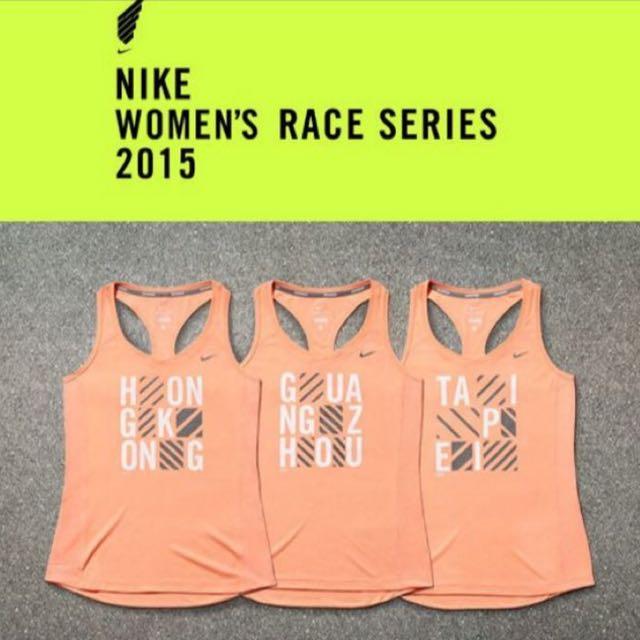 ❣️徵求❣️Nike 2015 2016 Taipei 女子 馬拉松 路跑 跑步 運動 背心 NRC running