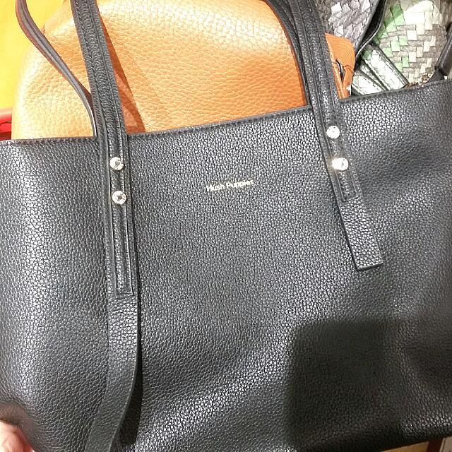 ORI HUSH PUPPIES Black Mini Bag Discount 40%