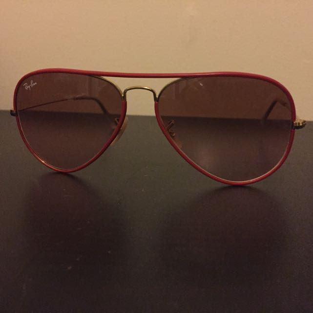 Ray Ban Limited Edition Red