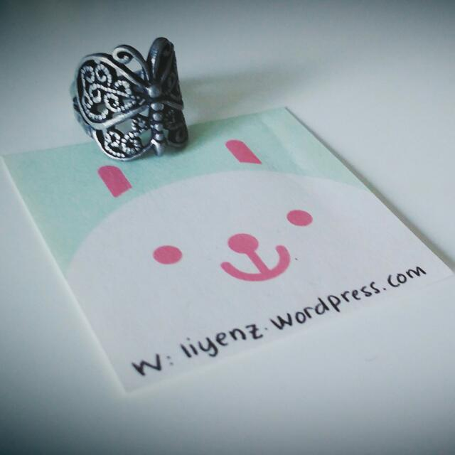 Ring - Butterfly Design