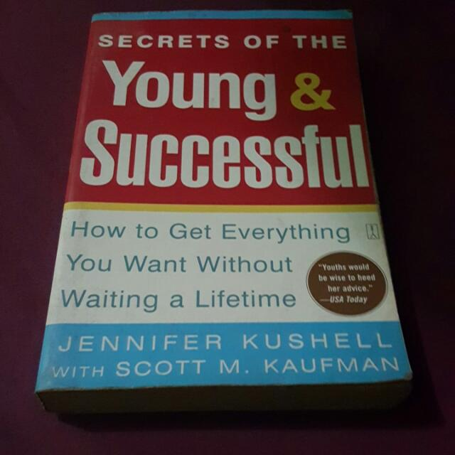 SALE!! Secrets Of The Young And Successful