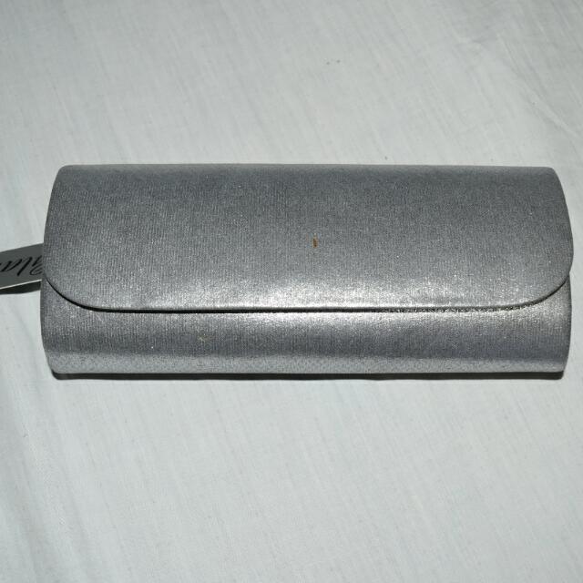 Silver Glam Bag