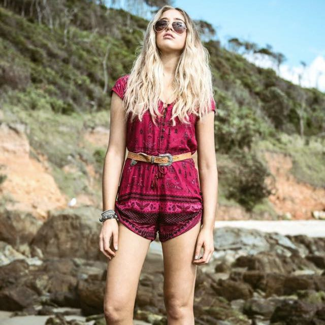 Spell Byron bay Romper/playsuit
