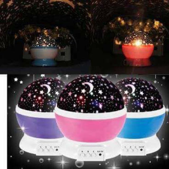 Star master Rotating LED Lamp