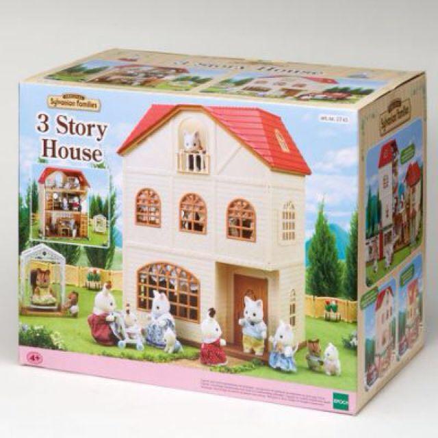 🎄Sylvanian Families 3 Storey House