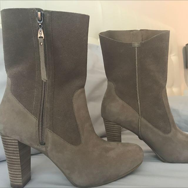 Ugg Heels Booties Boots Size 9