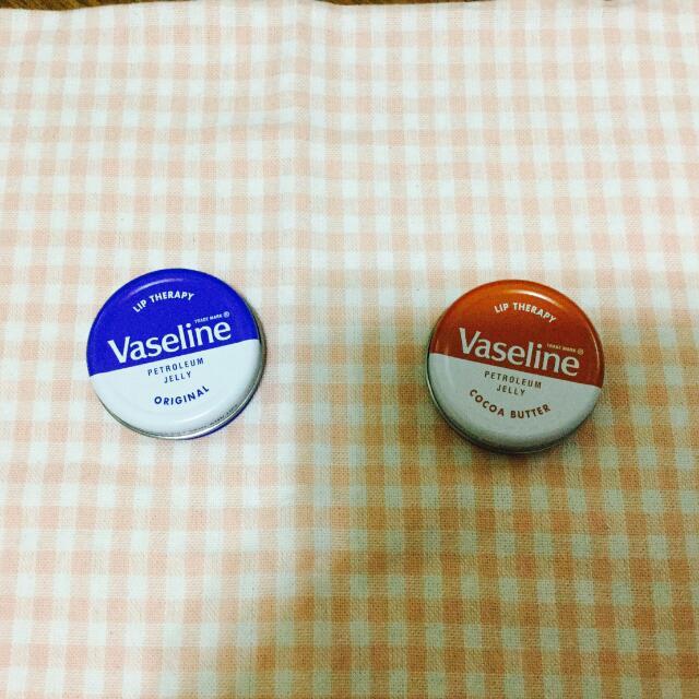 🚗代售🚗[香港帶回]Vaseline 凡士林深層滋潤護唇霜 20g 原味/可可油