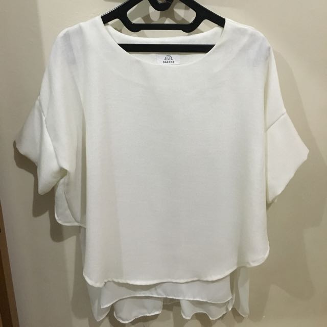 White Loose Shirt
