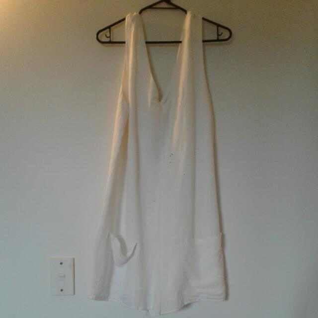 White Playsuit (Glassons Edt)
