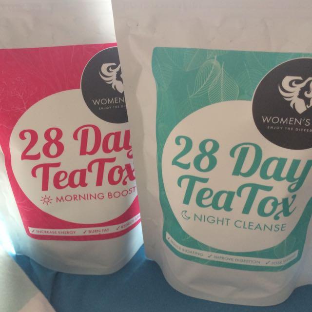 Womens Best 28 Day Tea Tox