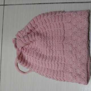保暖編織帽,2用圍巾