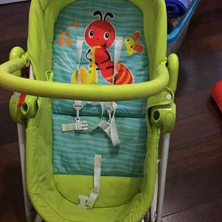 Baby Basket And Rocking Chair