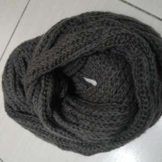圍巾 (灰)