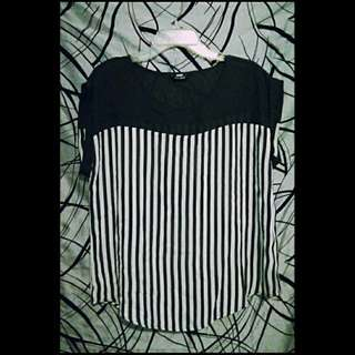 Max blouse stripes