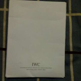 IWC Cleaning Cloth