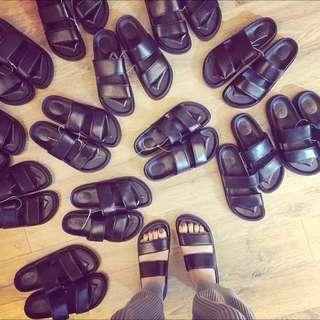 韓國百搭一字拖鞋