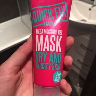 Quick Fix Face Mask For Dry Skin