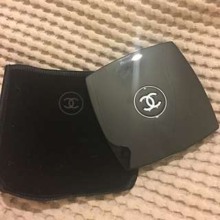 CHANEL Double Compact Mirror Gift Wrapped