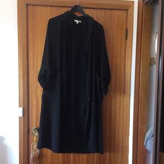 Black Bellero/ Thin Overcoat