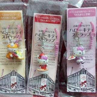 Kitty吊飾2013年百貨店組