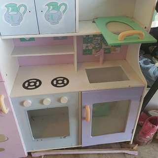 Kids Large Kitchen Play Set