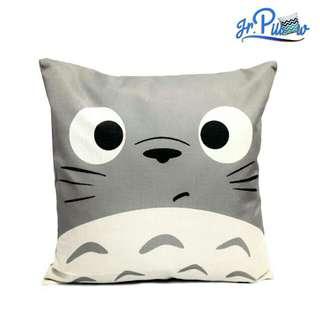 SALE!!! Sarung Bantal Sofa 45x45 soft canvas Totoro Face