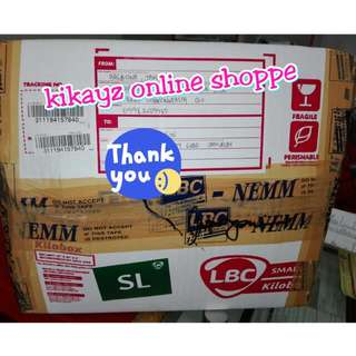 PROOF OF SUCCESSFUL SHIPMENTS/ PROOF OF LEGITIMACY  THANK YOU SO MUCH FOR TRUSTING KIKAYZ ONLINE SHOPPE  HAPPY SELLING EVERYONE!!