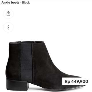 boots Hnm new only 350k!