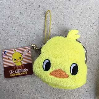 Authentic Japanese Chicky Coin Purse