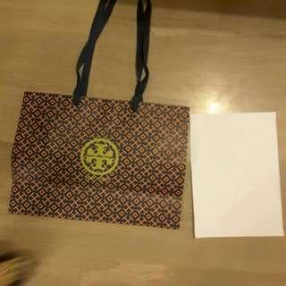 Tory Burch Paper Bag