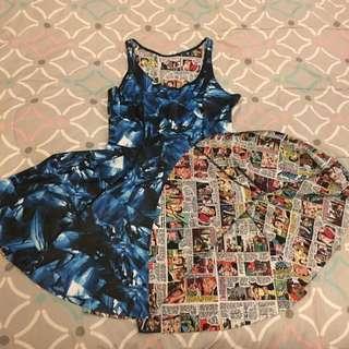 Black Milk Clothing Sick Of Men vs Sapphire Inside Out Dress