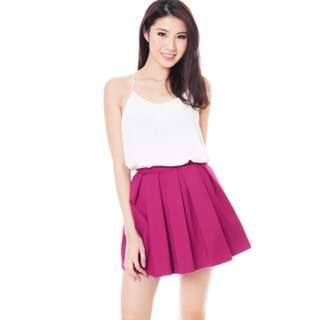 TCL Singing Pleats Box Skirt