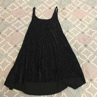 Black Milk Clothing Burned Velvet Babydoll