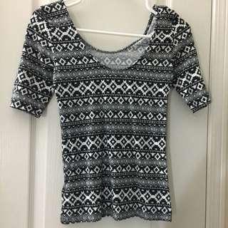 H&M Aztec Shirt BNWOT