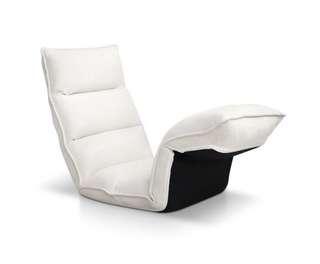 Lounge Sofa Chair - 375 Adjustable Angles – Ivory