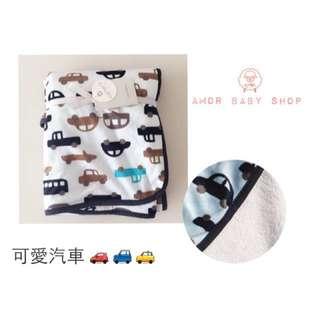 Carter's 小汽車 嬰兒 兒童 寶寶 雙層 毛毯