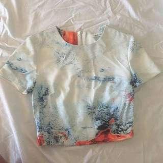 Faith in Love Crop T-Shirt (8)