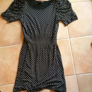 Xcepsion Polka Dot Dress