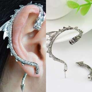 Free - Dragon Snake Ear Cuff