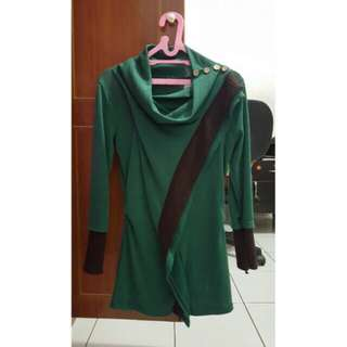 Long Sweater Top ( Emerald )