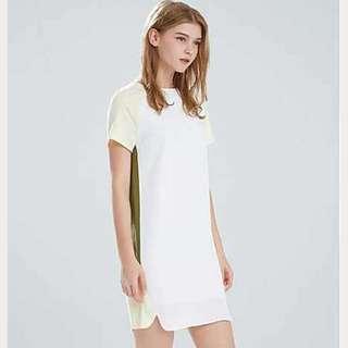 Minimalist Short Sleeve Dress