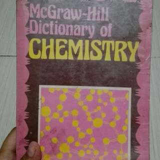 Chemistry Dictionary Book