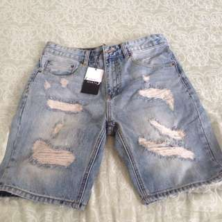 Saint Morta Denim Shorts