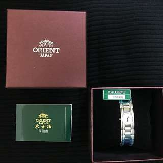 (已售出)[小謝叔叔]日系鑲鑽錶ORIENT 東方錶閃亮晶鑽經典款打一折(非MK.CK.Vaness.DW.horse.GUCCI