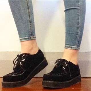 Creepers Wedge Shoes